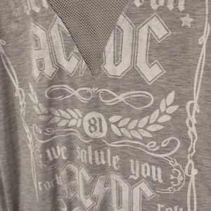 ACDC long sleeve shirt Sz XL